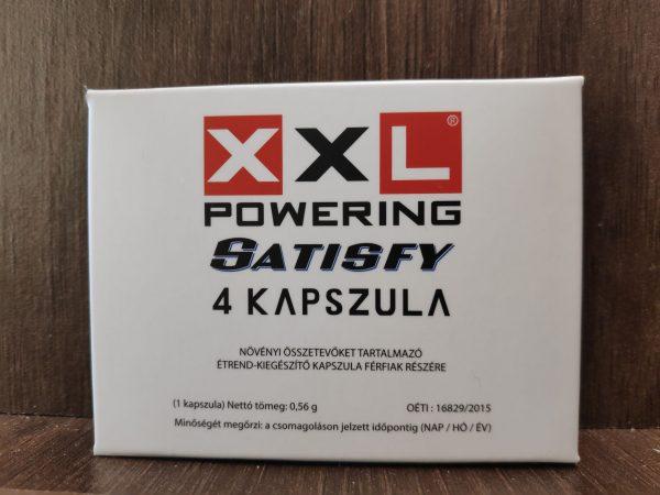 xxl powering satisfy potencianövelő