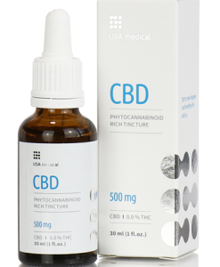USA medical CBD olaj 30 ml 500 mg