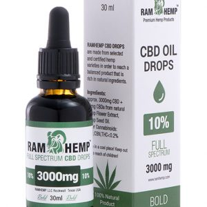 RAMHEMP Full Spektrum 10 % CBD olaj 30 ml