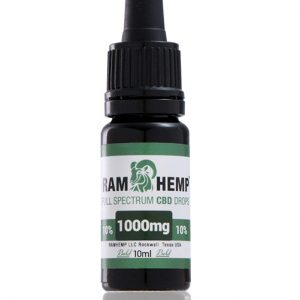 RAMHEMP Full Spektrum 10 % CBD olaj 10 ml üveg
