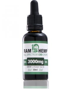 RAMHEMP Full Spektrum 10 % CBD olaj 30 ml üveg