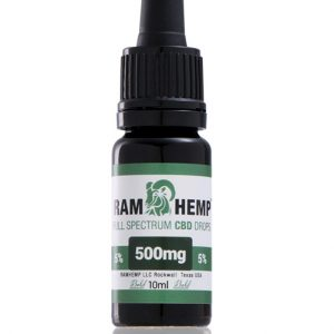 RAMHEMP Full Spektrum 5 % CBD olaj 10 ml üveg