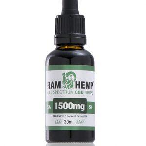 RAMHEMP FullSpectrum 5 % CBD olaj 30 ml üveg
