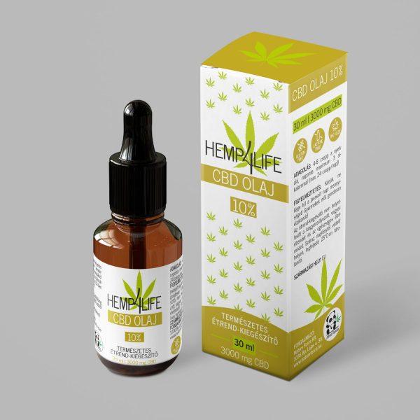 Hemp4Life CBD olaj 30 ml 10 %