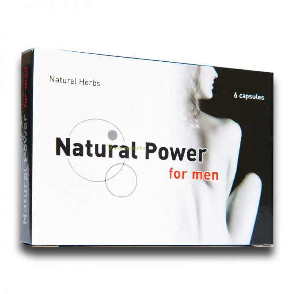 natural power for men potencianövelő