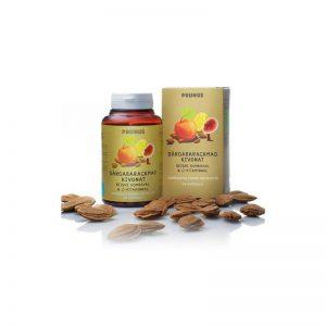 PRUNUS Sárgabarackmag kivonat Reishi gombával és C-vitaminnal 90 db