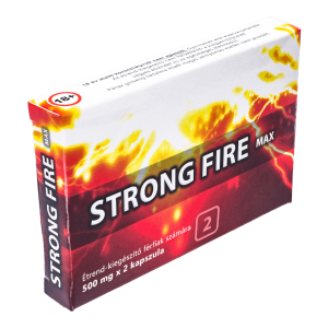 Strong Fire Max 2 kapszulás alkalmi potencianövelő