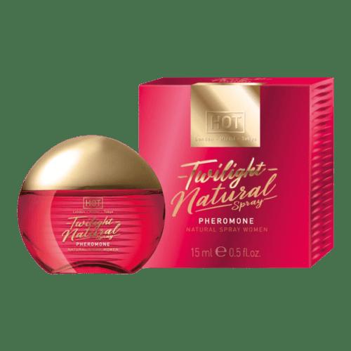 HOT Twilight Natural - feromon parfüm nőknek-illatmentes 15ml