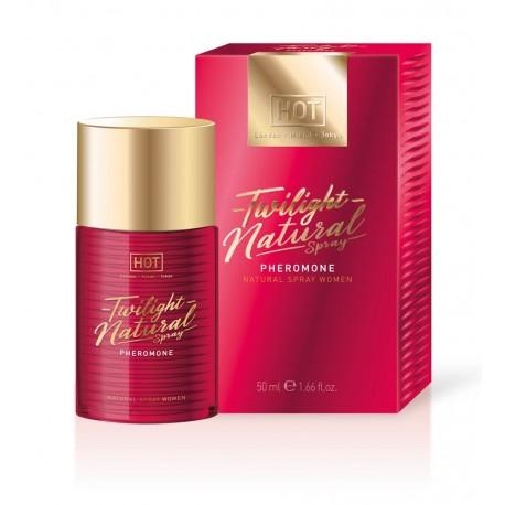 HOT Twilight Natural - feromon parfüm nőknek-illatmentes 50ml